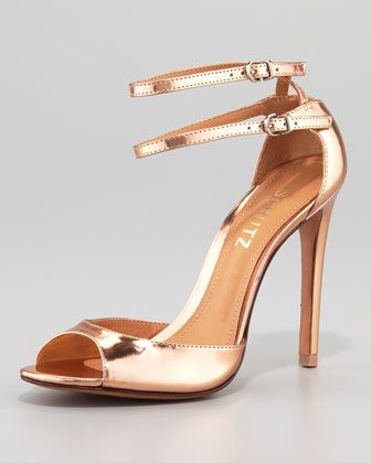 28f00dfe56 Imalia Evening Sandal, Rose Gold at CUSP. | Too Expensive But ...