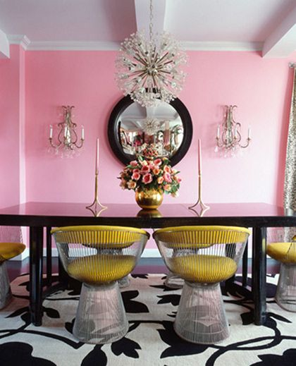 Killer color - chair -chandelier | spruce the roost | Pinterest ...