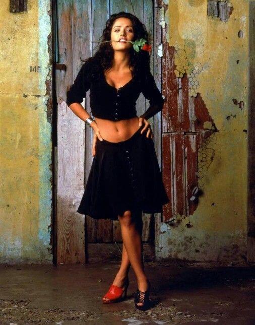 Salma Hayek Desperado 1995 Salma Hayek Desperado Salma Hayek Fashion