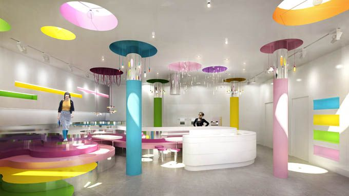Pop Design for Office Ceiling Photo Studio 4 – Cool Work Spaces