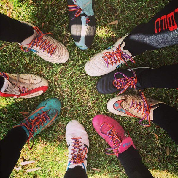 Want to know where to get your free #RainbowLaces? For individuals & teams.