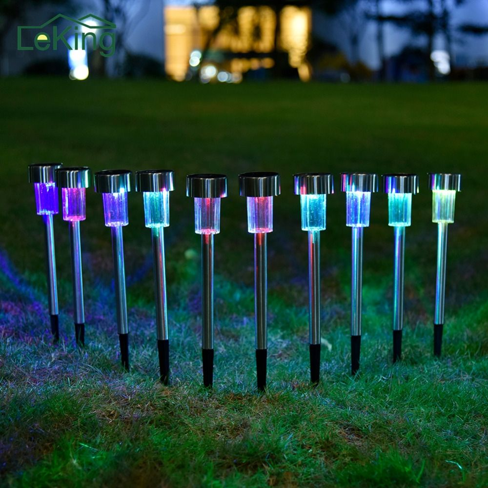 Details About Jw 10 Led Solar Power Buried Light Under Ground Lamp Outdoor Path Way Garden In 2020 Outdoor Path Solar Power Solar Powered Lights