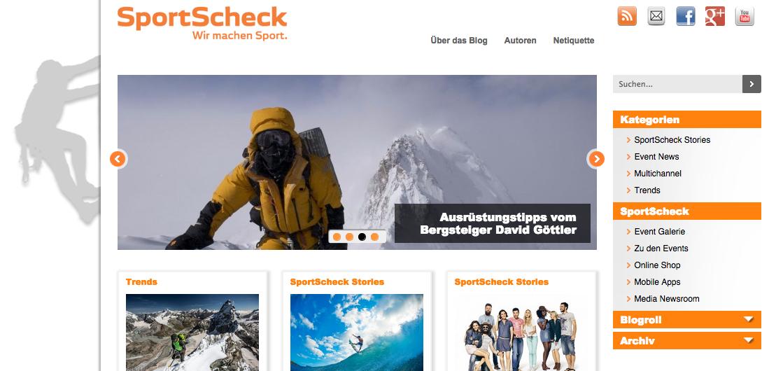SportScheck Sport, Sportscheck und Autoren