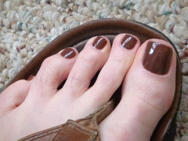 bb - rustler nail polish mauve