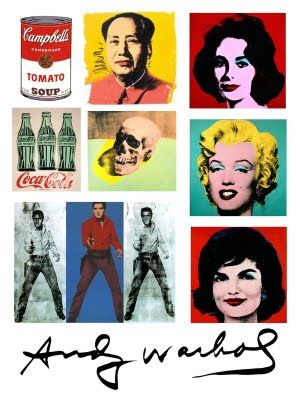 The Pop Art by Andy Warhol