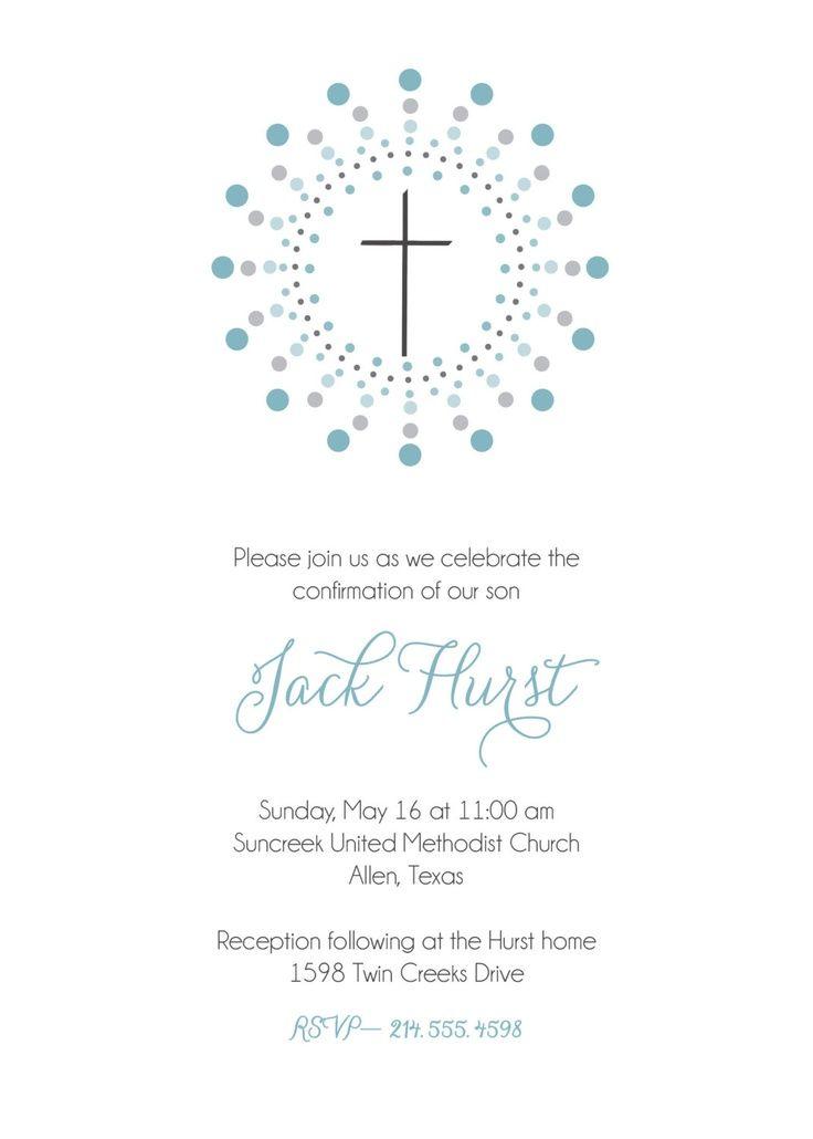 boy communion invitation invitation First Communion invitation - invitation templates holy communion