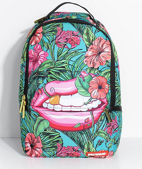Sprayground Jungle Lips Backpack Gear In 2019