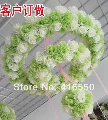 Wedding costumes wholesale wedding decoration red silk flower wreath wedding costumes wholesale wedding decoration red silk flower wreath rings simulation flower stage props mins scene mightylinksfo