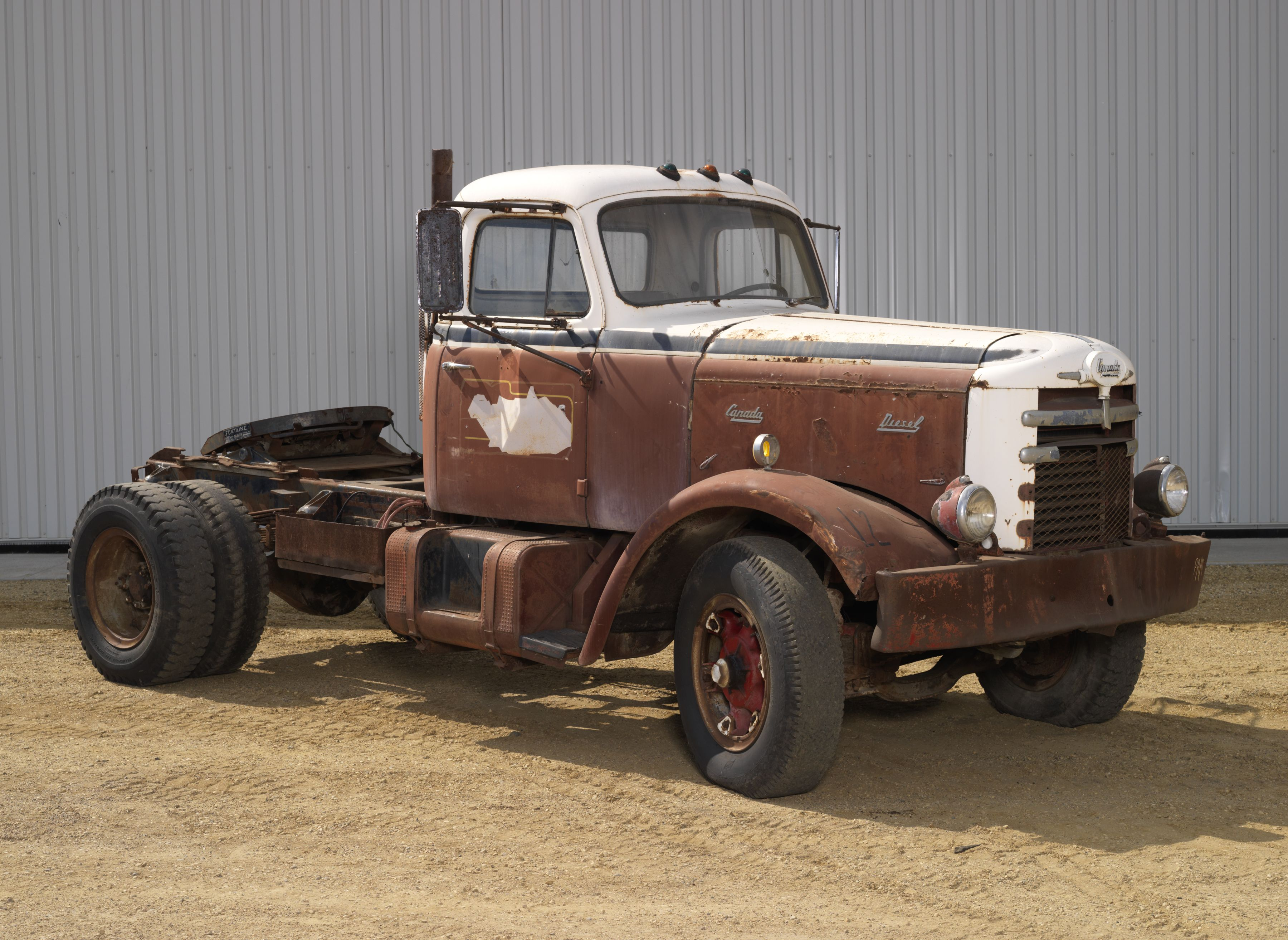 1958 CANADA TRACTOR TRUCK A joint effort of Leyland