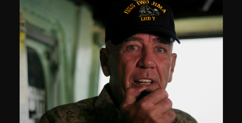 R. Lee Ermey, aka 'The Gunny,' has passed away Marines