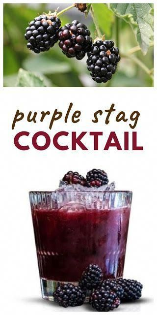 Photo of A summer cocktail with the flavours of blackberries made with Jägermeister, plu…