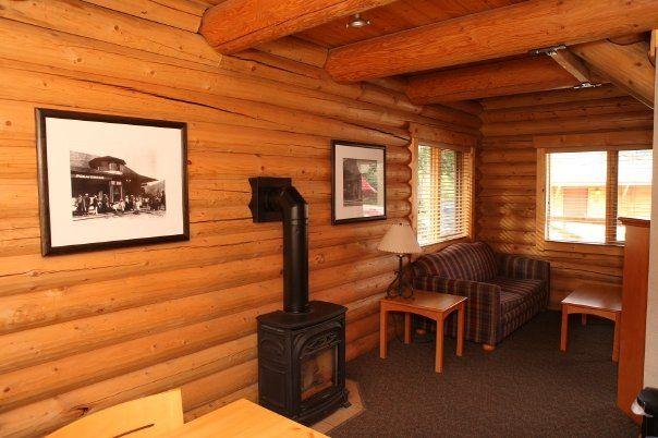 Pocahontas Cabins Near Jasper Alberta  Nice Cozy Interiors
