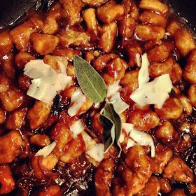 Keep it Luce: Sweet Potato Gnocchi with Brown Butter Balsamic &Sage