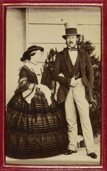 Queen Victoria and Prince Albert, Prince Consort at Osbourne