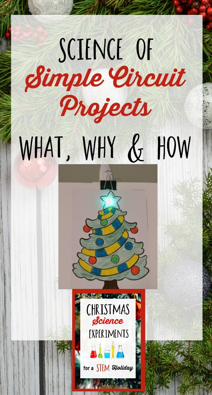 Simple Circuit Project To Infuse Science Into Your Holiday Projects Light Up The Holidays