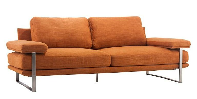 We Found The Chic Orange Sofas Of Your