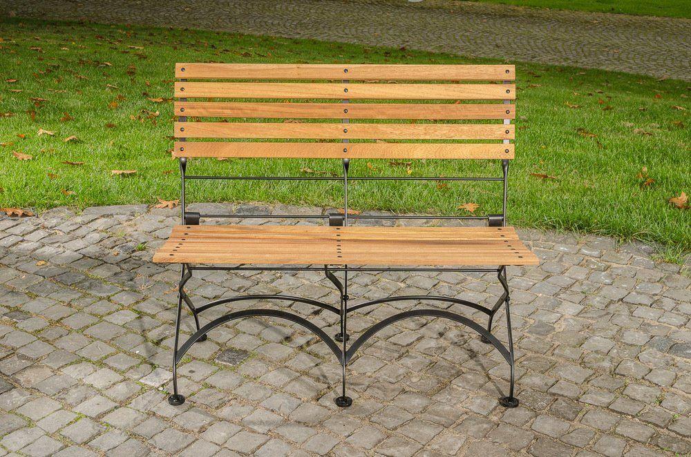 Gartenbank Holz Metall Klappbar Clp Wetterfeste Romantischen ...