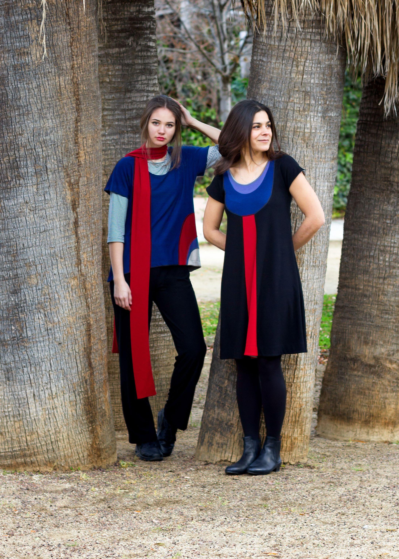 http://www.instintobcn.com/es/149-coleccion-masai Vestido y camisetas de la colección Masai. #Outfit #casual #ModaMujer #InstintoBcn