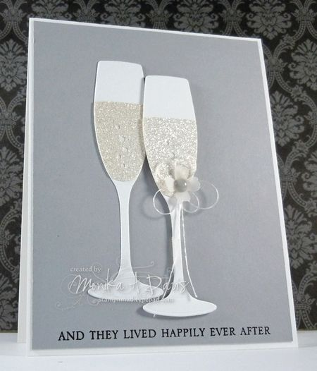 Happily Ever After Engagement Cards Wedding Congratulations Card Wedding Cards Handmade
