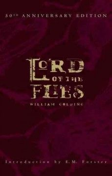 Lord of the Flies (BOOK)--William Golding's classic tale about a group of English schoolboys who are plane-wrecked on a deserted island. At first, the stranded boys cooperate, attempting to gather food, make shelters, & maintain signal fires. Overseeing their efforts are Ralph, & Piggy, Ralph's chubby, wisdom-dispensing sidekick. Although Ralph tries to impose order and delegate responsibility, there are many in their number who would rather swim, play, or hunt the island's wild pig…