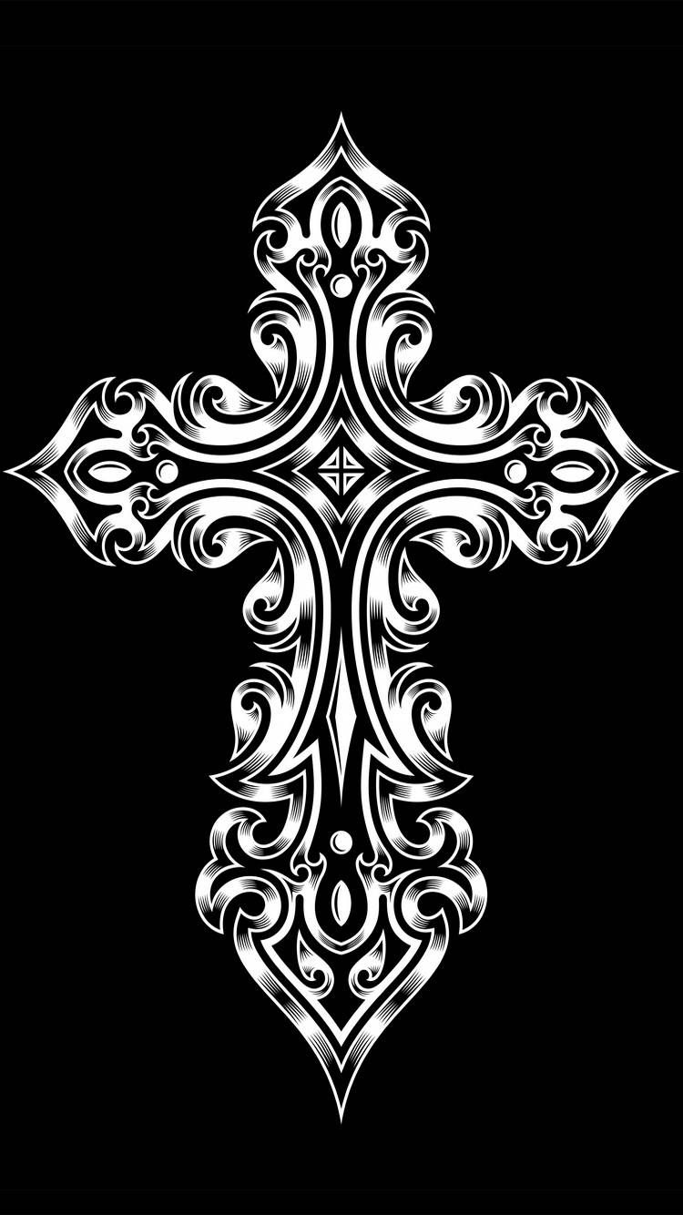 Pin On Cross Wallpapers Tribal tattoo wallpaper hd for mobile