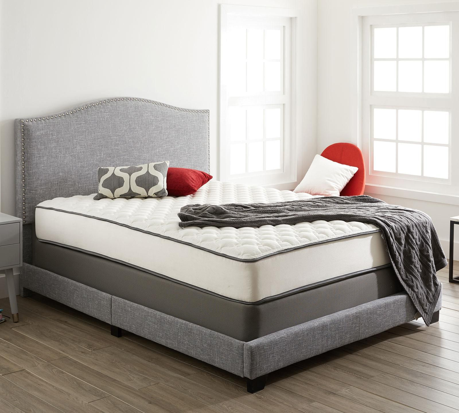 "Greenwood 9.5"" Firm Mattress in 2020 Adjustable beds"