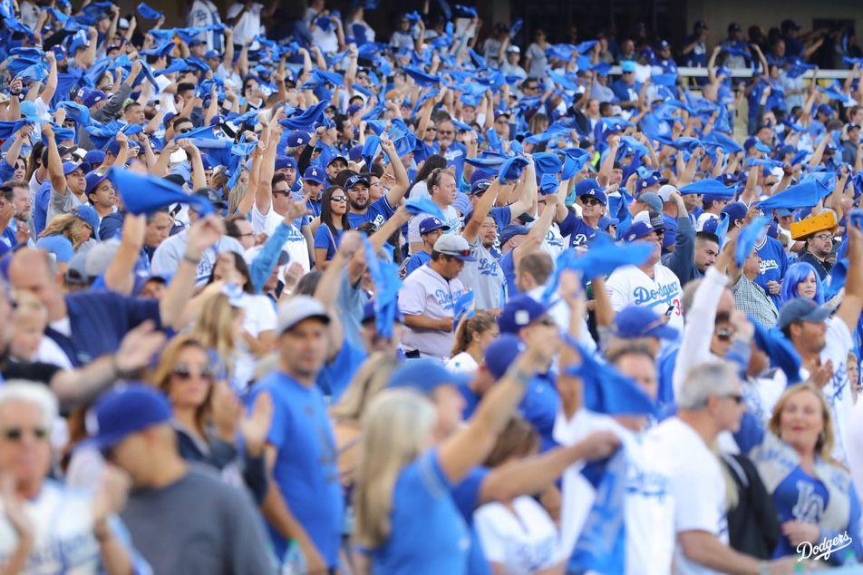 Let's Go Blue! Dodgers, Dodger stadium, Los angeles dodgers
