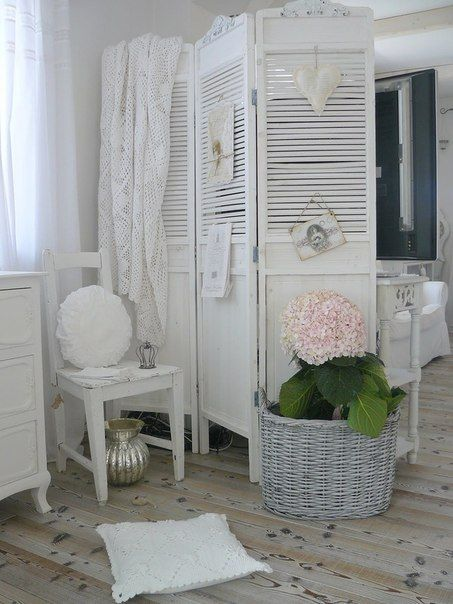 room divider to hide back of tv Shabby Shabby Chic Pinterest