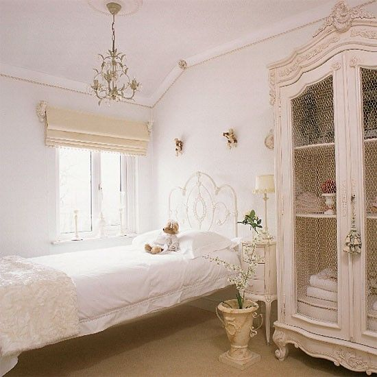 white vintage bedroom bedroom furniture decorating ideas image housetohome - White Bedroom Decorating Ideas
