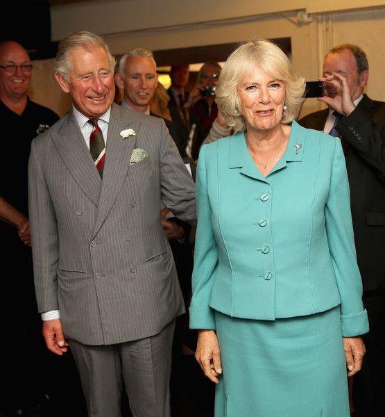 Camilla Parker Bowles Photos Photos: The Prince of Wales & Duchess of Cornwall Visit Wales - Day 2 #visitwales