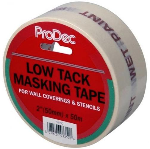Low Tack Masking Tape 50 Mm 50 M Masking Tape Tape Home Repair