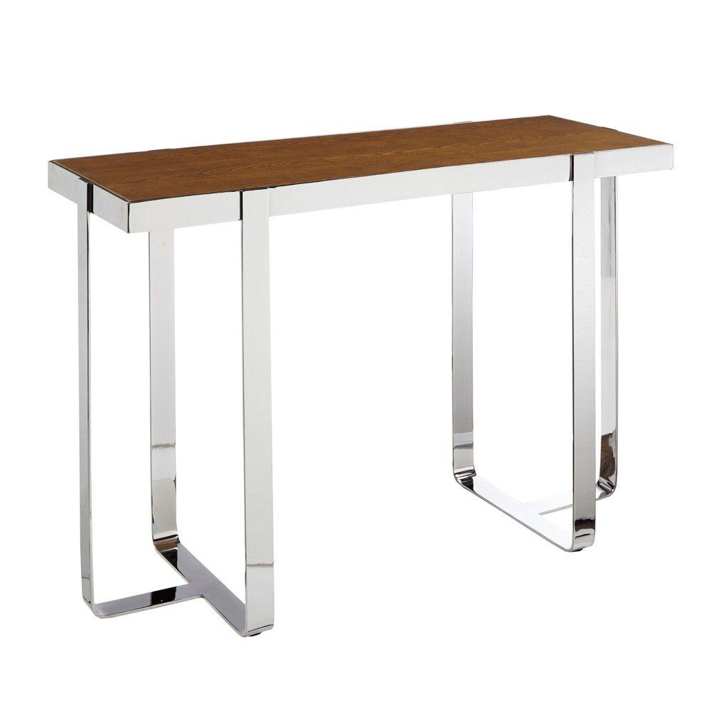 Brighton Console Table - Silver