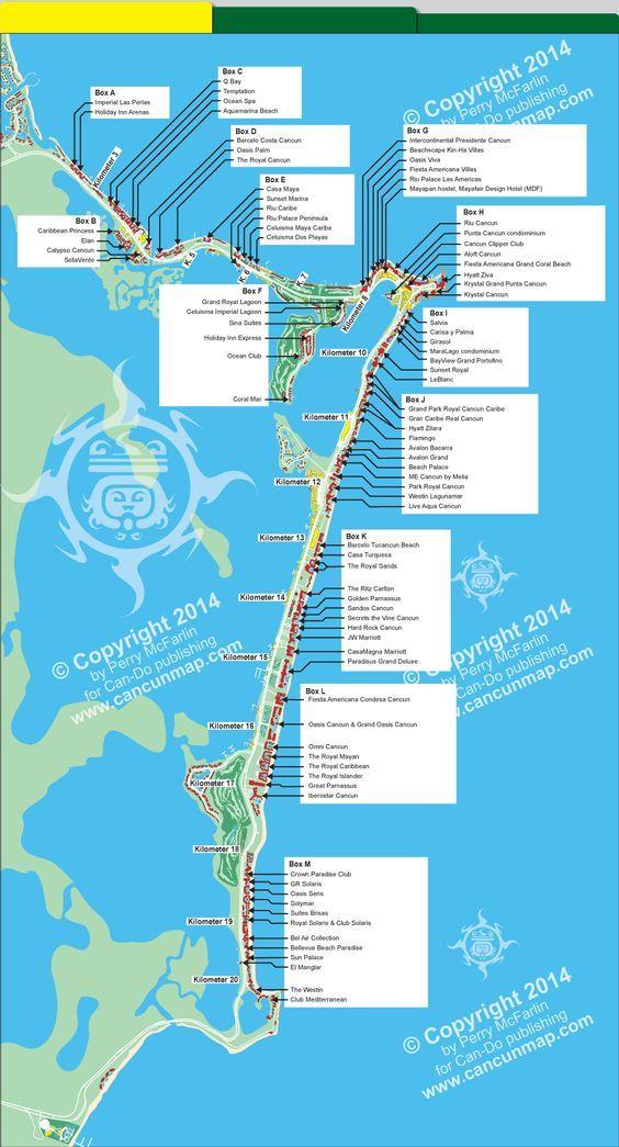 royal caribbean cancun map Map Of Cancun Hotel Zone Hotels Cancun Map Cancun Hotels royal caribbean cancun map