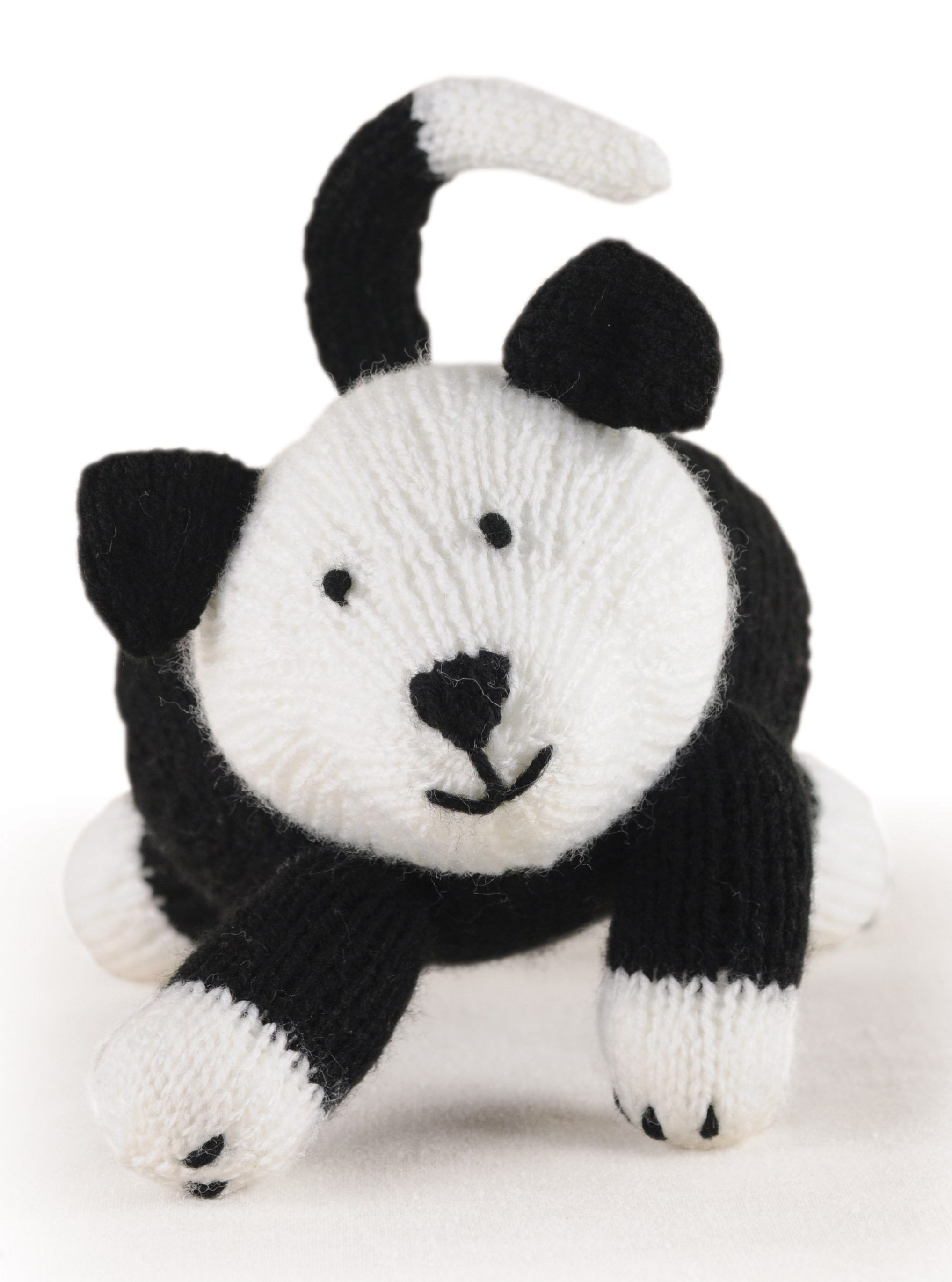 Free Knitting Pattern for Sheepdog - This adorable Sheepdog toy ...