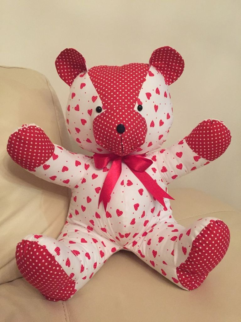Teddy Bear Tutorial And Pattern Pictures Of Keepsakes