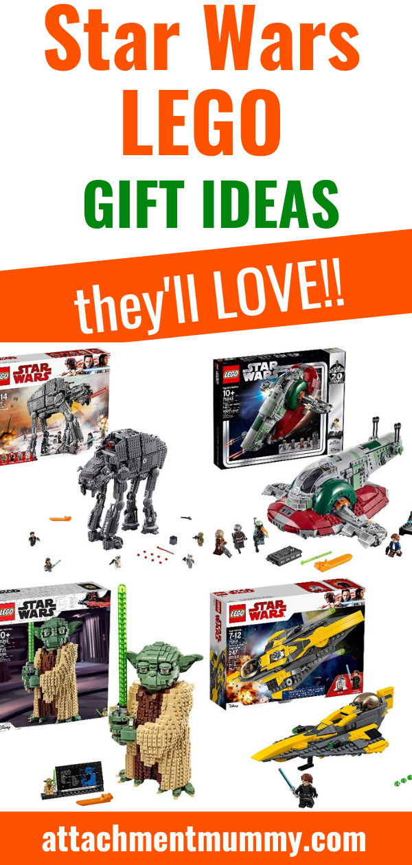 15 of the Best LEGO Star Wars Gift Ideas #LEGO #StarWars #giftguide #Christmas #Christmasgifts #giftideas