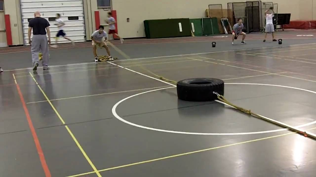 Crown Point Wrestling Tire Workout Tire Workout Wrestling Workout Workout