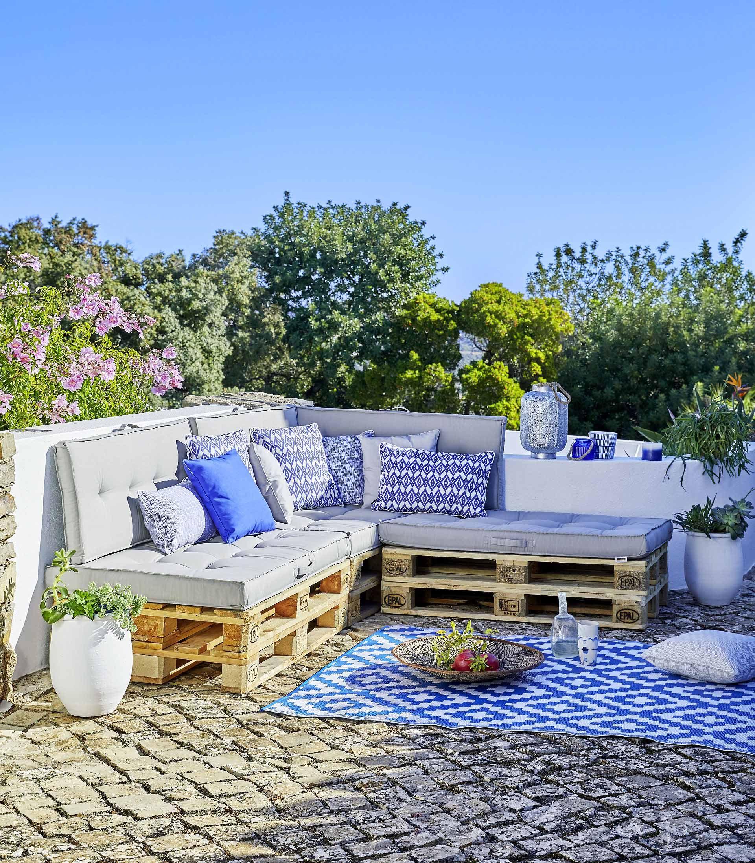 Comment fabriquer ses meubles de jardin en palettes ...