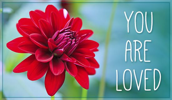 Free you are loved ecard email free personalized care - Crosscards free ecards ...