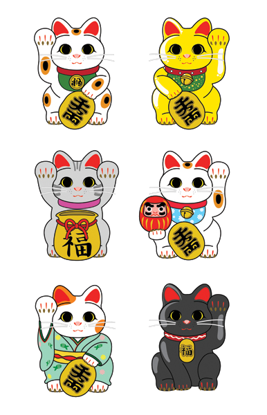 Maneki Neko The Lucky Cat Lucky Cat Tattoo Maneki Neko Cat Tattoo