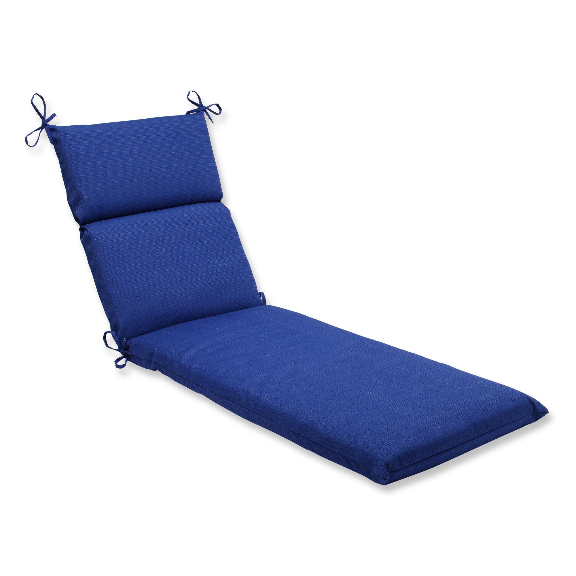 Fresco Outdoor Chaise Lounge Cushion