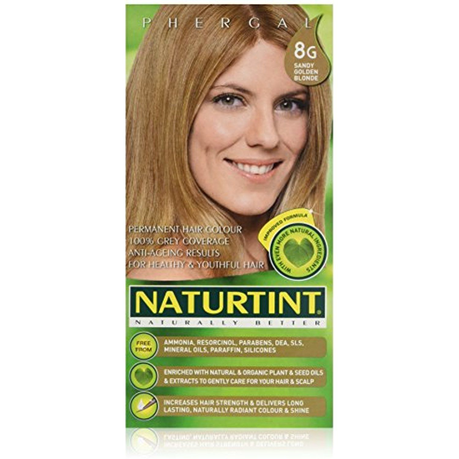 Phergal Naturtint Hair Color Permanent 8g Sandy Golden Blonde 5 28 Ounce Check Out This Great Product This Permanent Hair Color Hair Color Dark Blonde