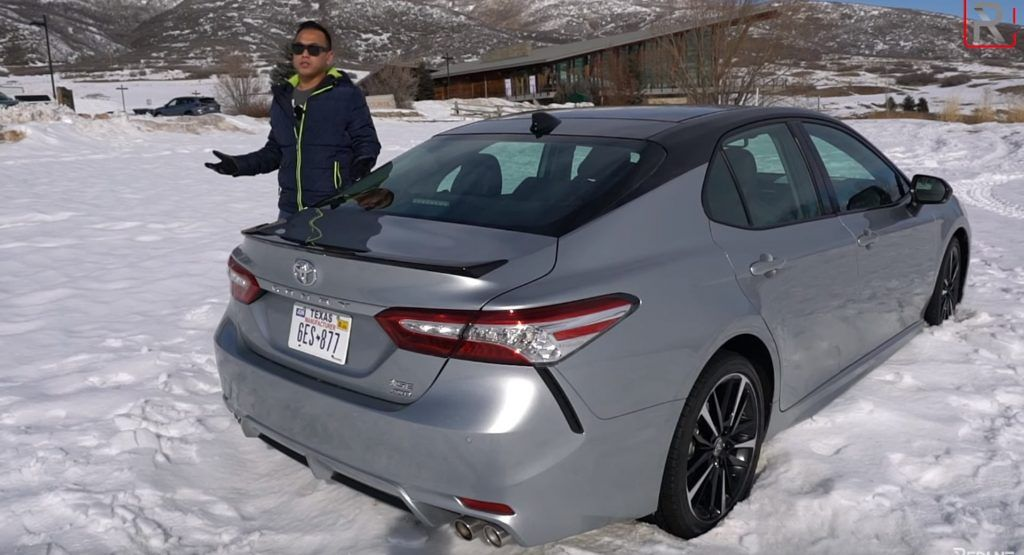 Review 2020 Toyota Camry AWD Is Quite Fun To Drive In The