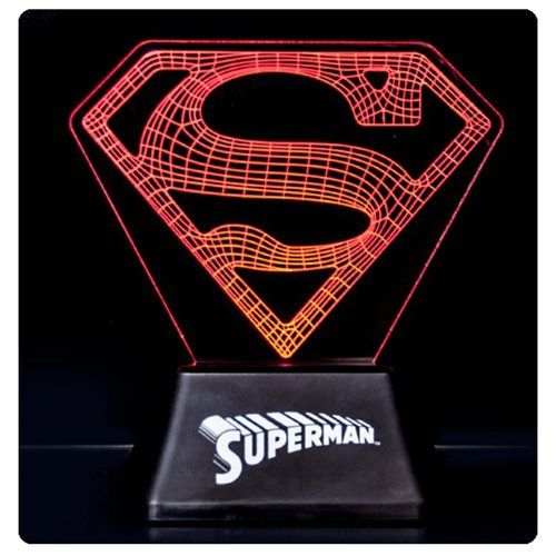 rogeriodemetrio.com: Superman Edge Acrylic Light Lamp