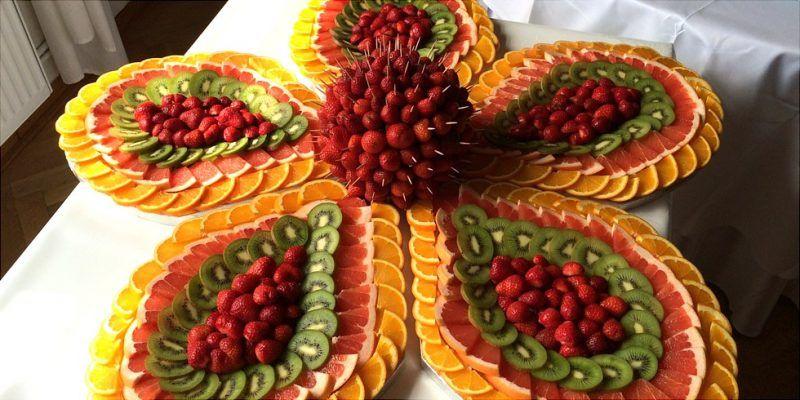 Das auge isst mit 51 kreative ideen f r kalte platten kalte platen - Deko vorschlage fur kalte platten ...