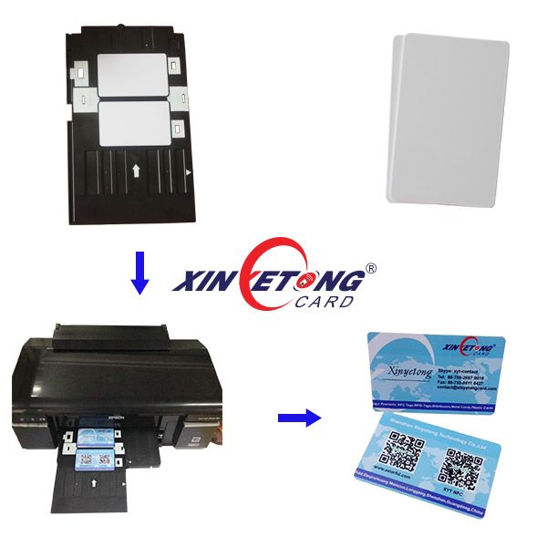Pvc Card Tray For Epson Artisan 1430 1430w 1500w R1800 And More With Regard To Pvc Card Template Cumed Card Template Free Place Card Template Event Card