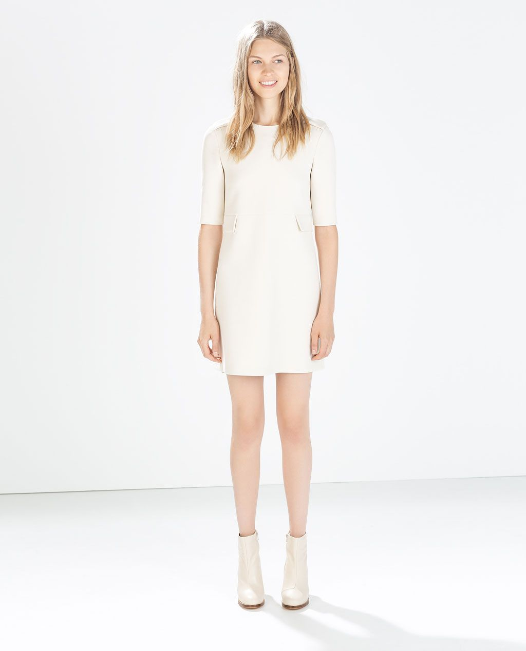 Image 1 Of Seamed Dress With Flaps From Zara May Be On The Short