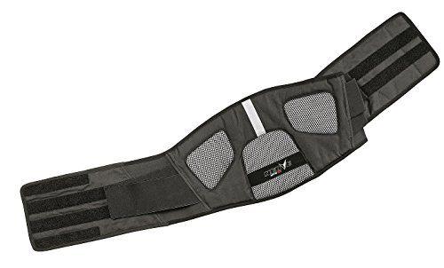 NERVE 1514050404_04 Kidney Belt Dynamic, Black, Large, 110 cm