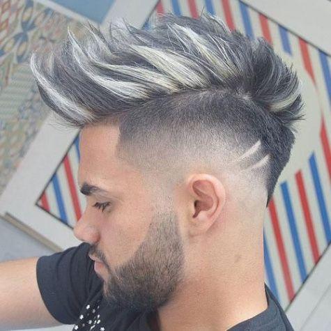 Corte de cabello moja de hombre