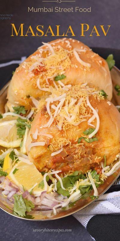 Delicious masala pavmumbai street food recipe yummy easy mumbai street food recipe yummy easy forumfinder Images